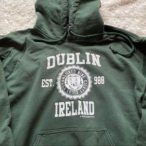 Dublin Ireland Green Unisex Hoodie Sweatshirt